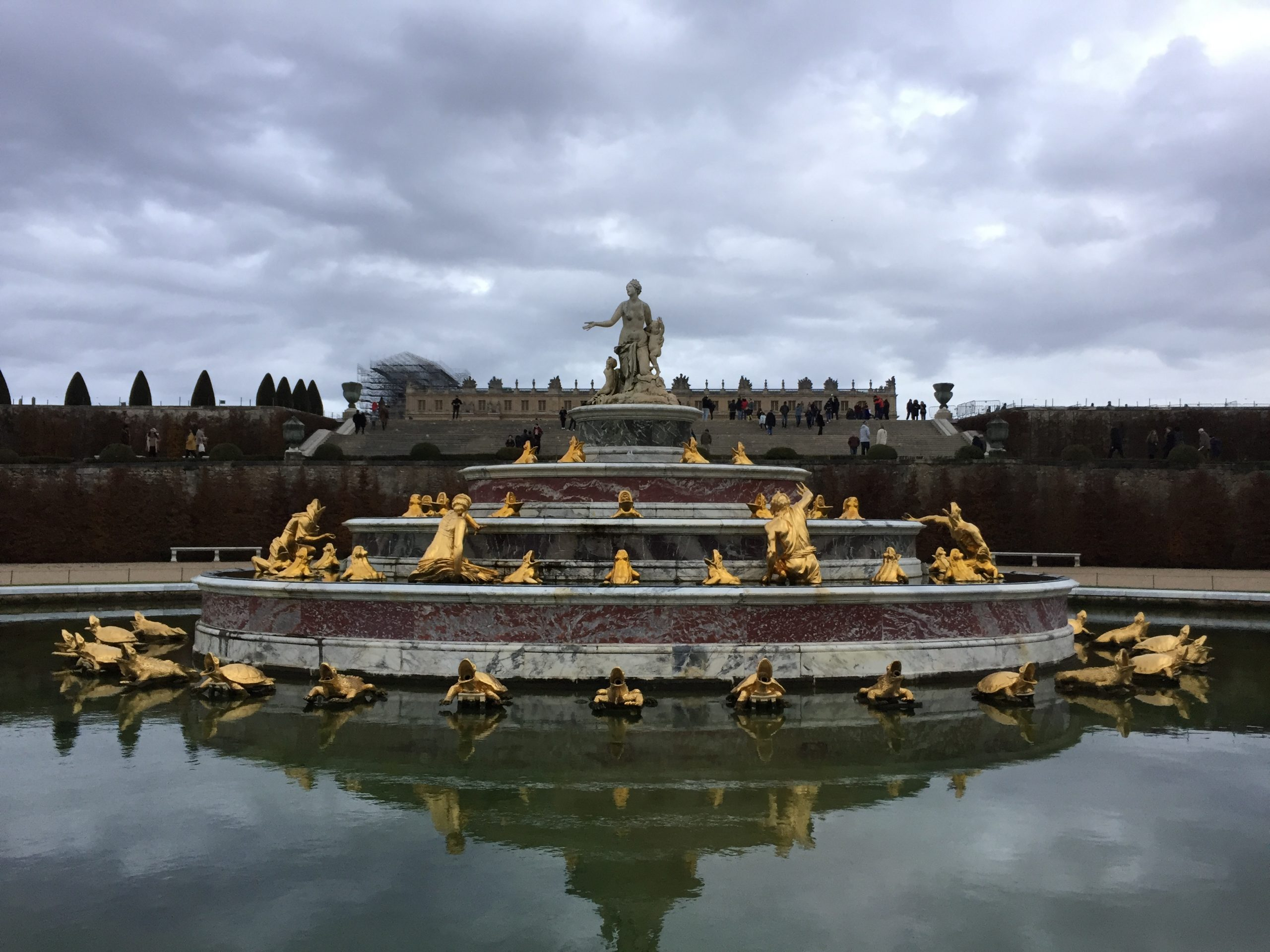 Fountain at the Palace of Versailles
