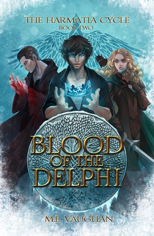 Blood of the Delphi by M. E. Vaughan