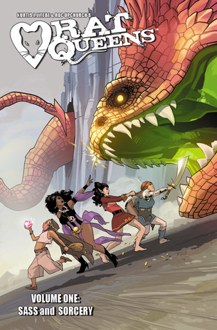 Rat Queens Volume 1: Sass and Sorcery by Kurtis J. Wiebe