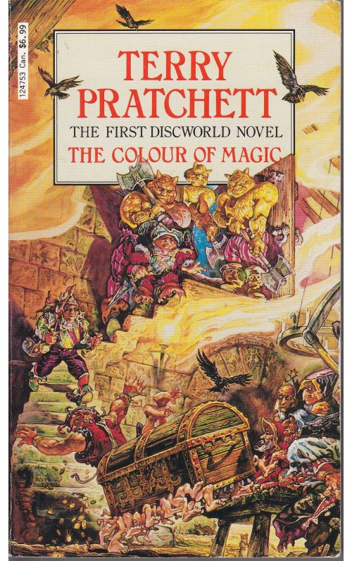 Discworld 1: The Colour of Magic by Terry Pratchett