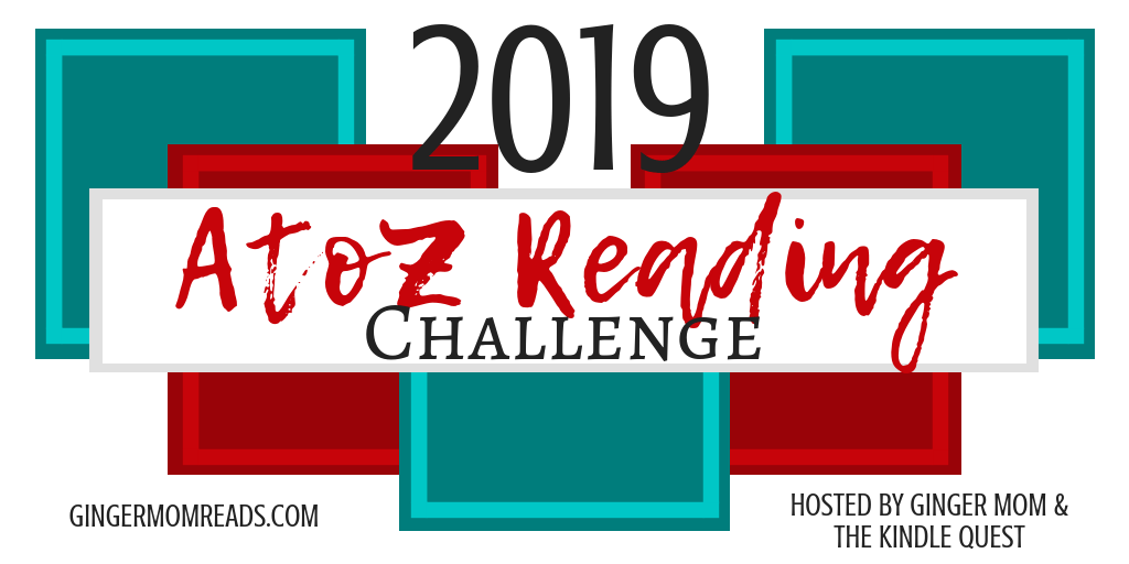 2019 A to Z Reading Challenge banner