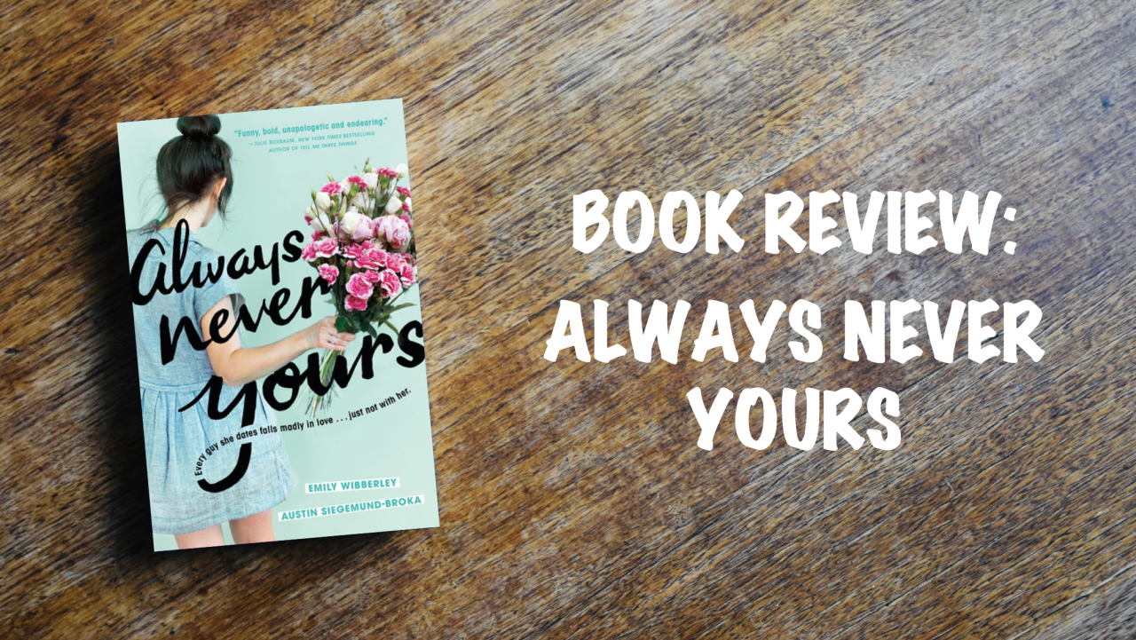 Book review: Always Never Yours