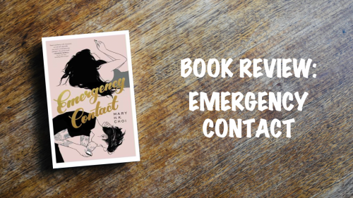 Book review banner: Emergency Contact