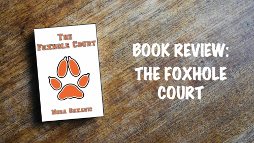 Book review banner: The Foxhole Court