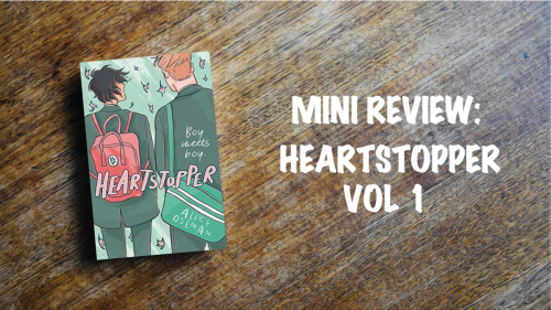 Book review: Heartstopper volume 1