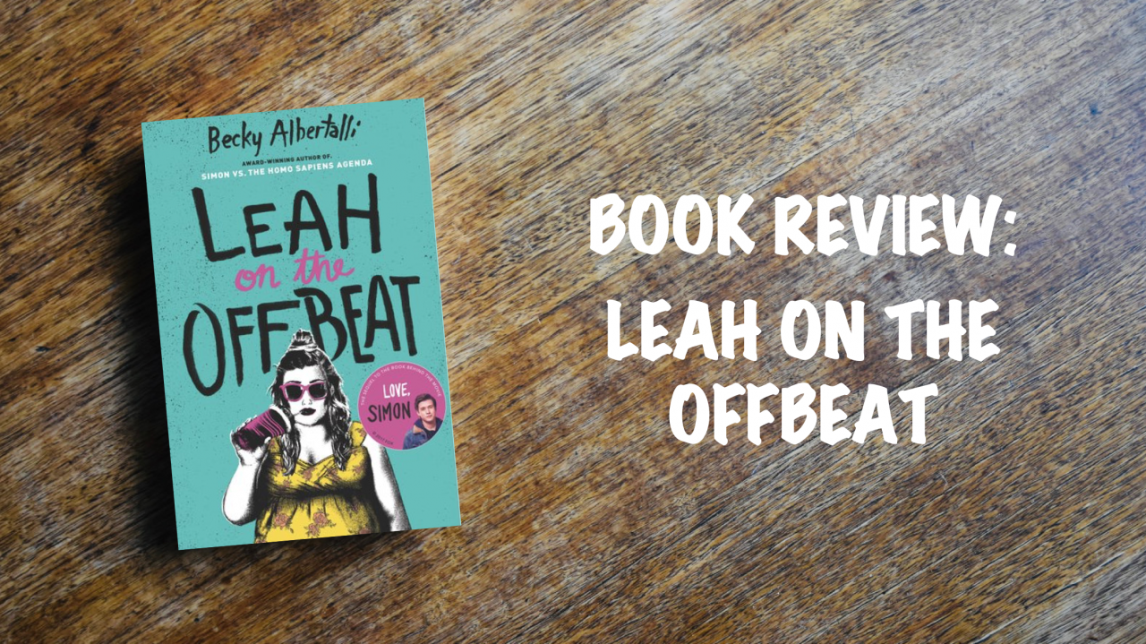 Book review: Leah on the Off Beat