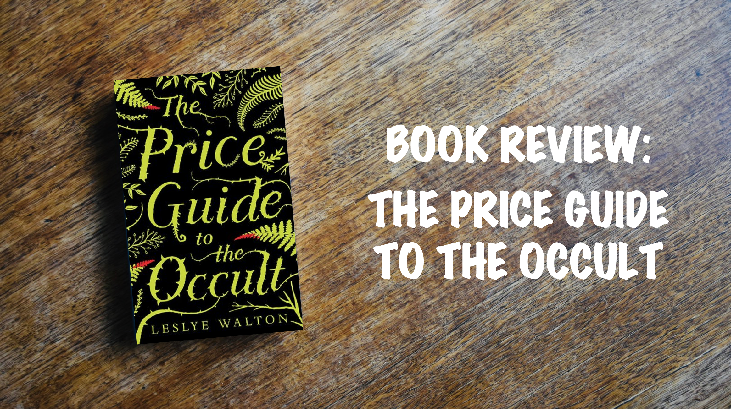 Book Review Banner: The Price Guide to the Occult