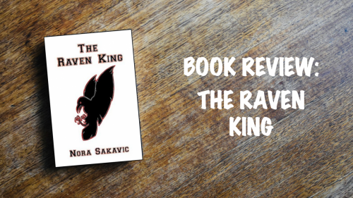 Book review banner: The Raven King