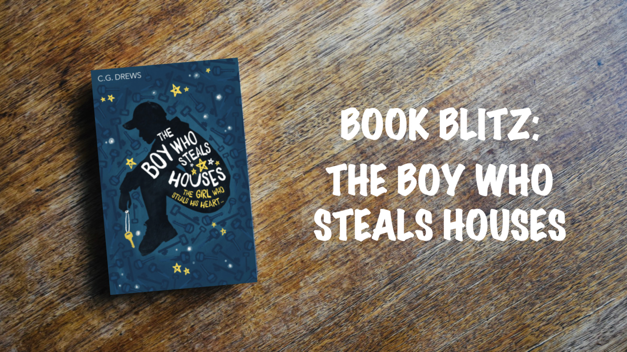 Book blitz banner: The Boy Who Steals Houses