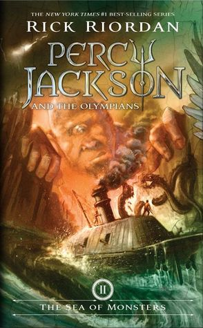 Percy Jackson #2: The Sea of Monsters by Rick Riordan