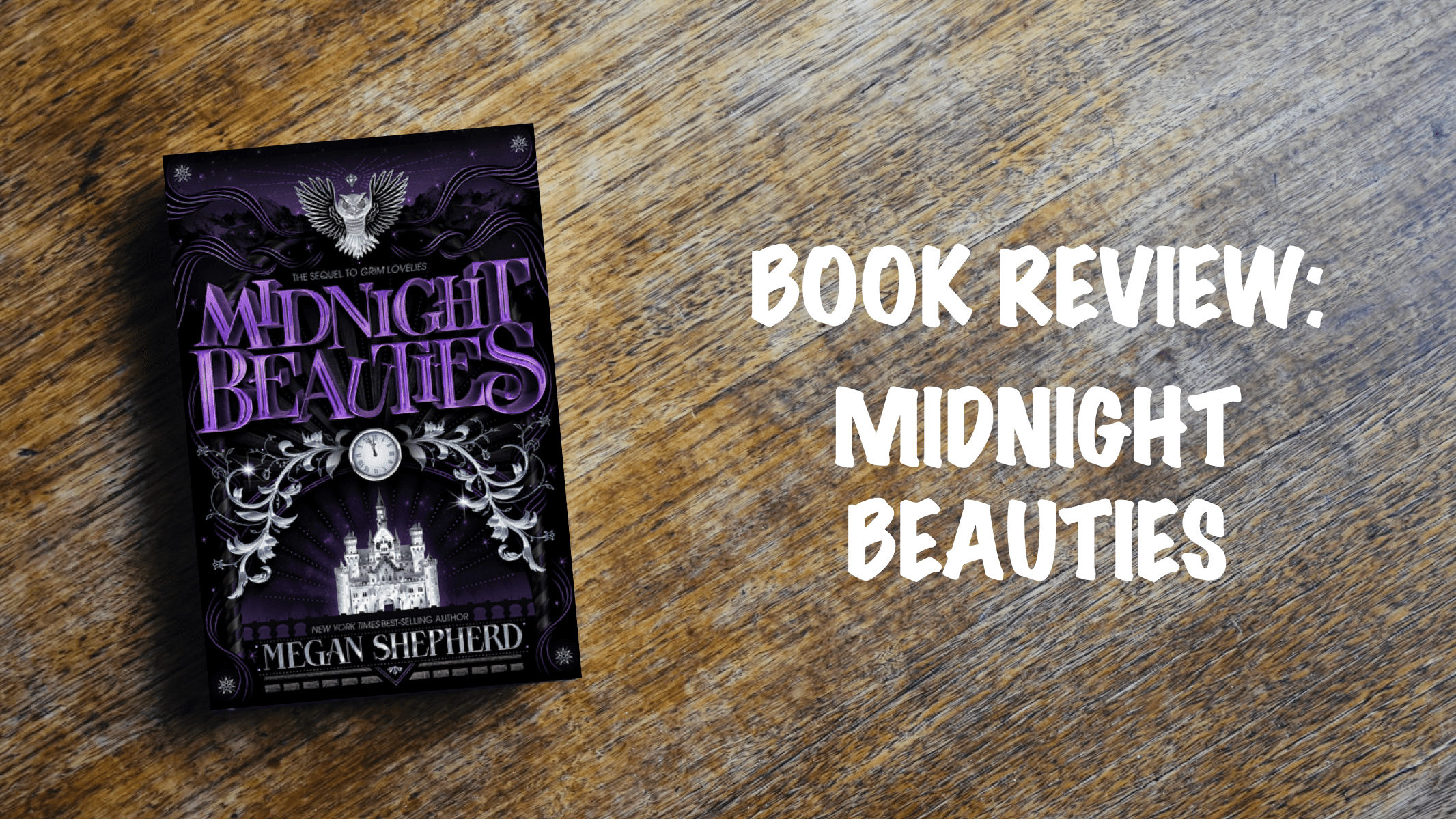 Book review banner: Midnight Beauties