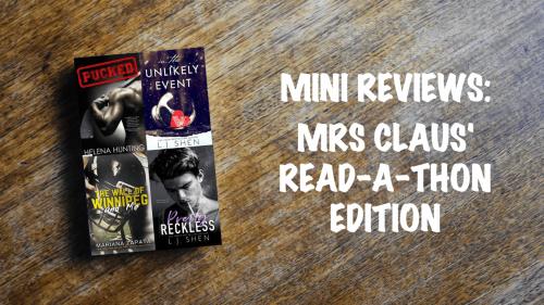 Mini Review Banner: Mrs Claus' Readathon