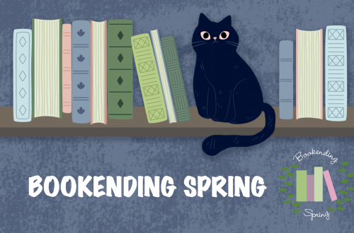Bookending Spring banner