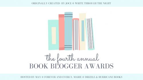 2020 book blogger awards header
