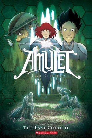 Amulet #4 The Last Council by Kazu Kibuishi