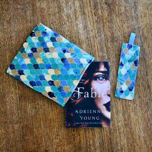Booksleeve and matching bookmark from Oh Sew Bookish
