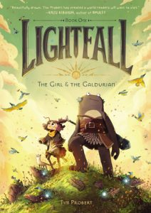 The Girl and the Galdurian by Tim Probert
