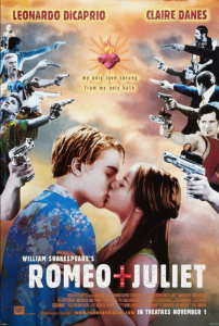 Romeo + Juliet film poster